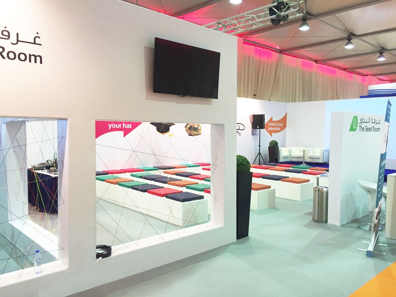 выставочный стенд в Дубаи - котролируемый вход