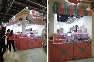 exhibition stand CUBE-BEAUTY