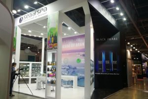 Exhibition Stand Kadmon at the beauty exhibition