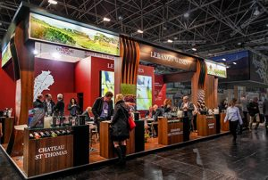 exhibition stand at ProWein
