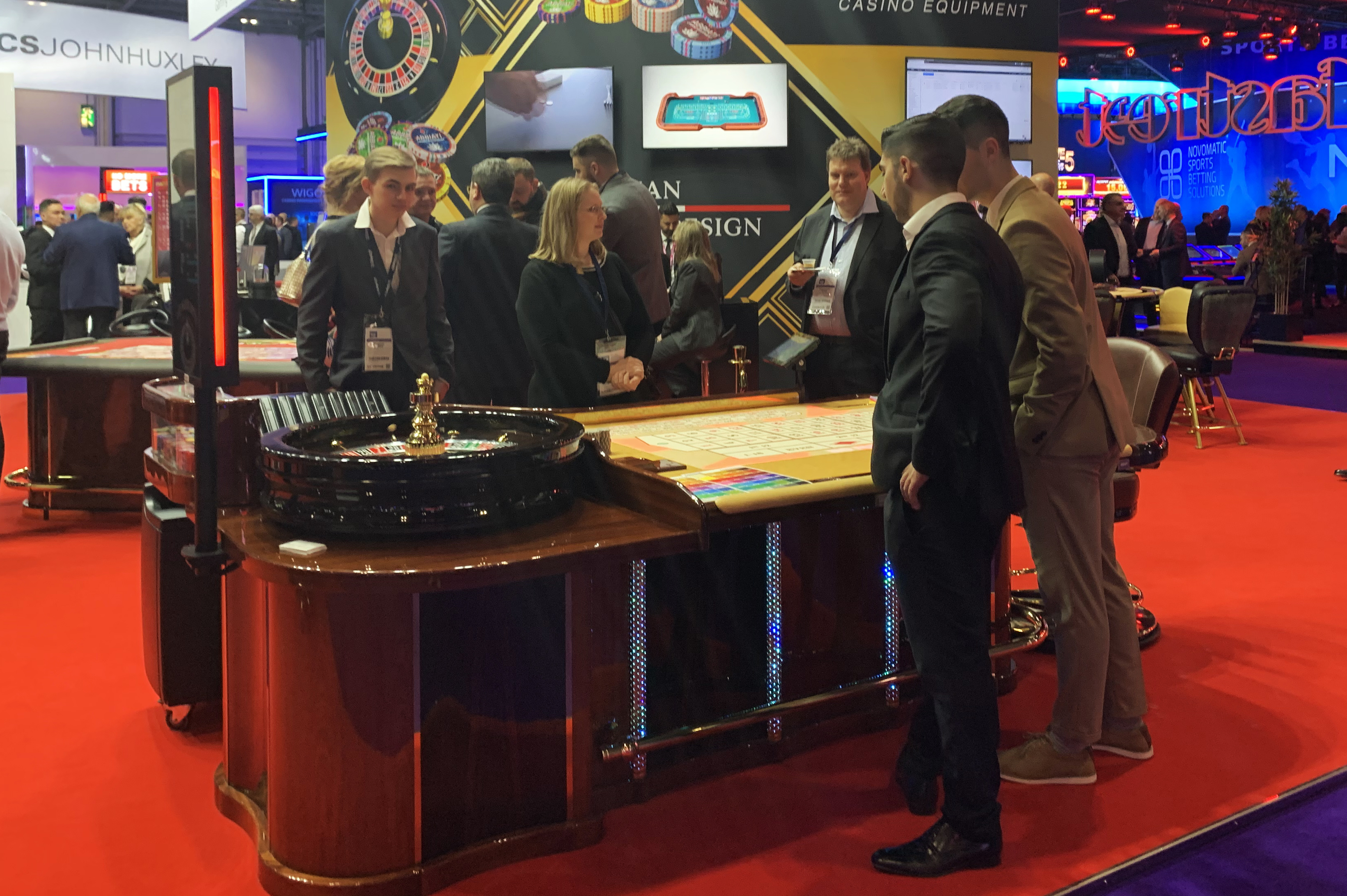 gaming stands at ICE London 2020