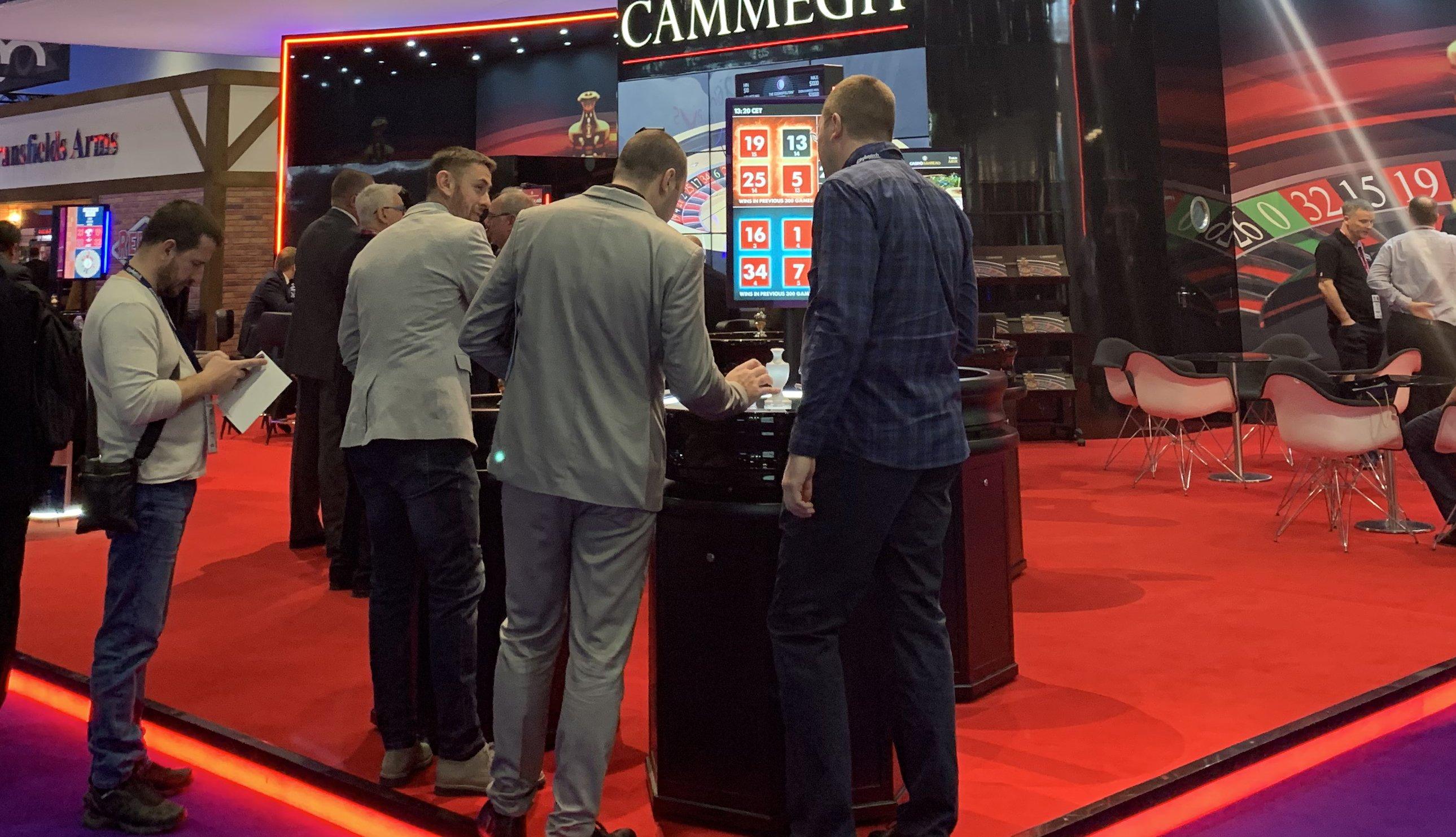 стенды игровые на выставке ICE Лондон