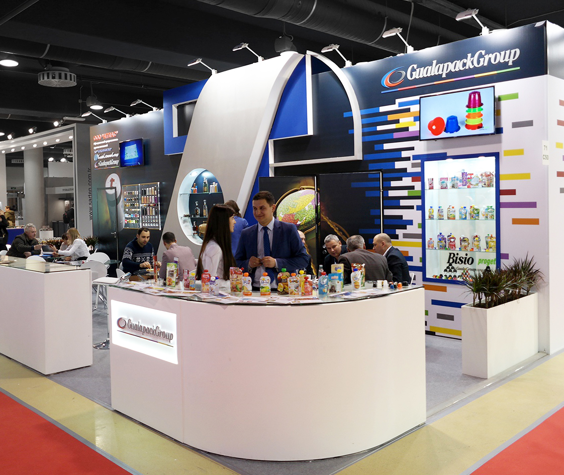 exhibition stand at the PRODEXPO in Russia