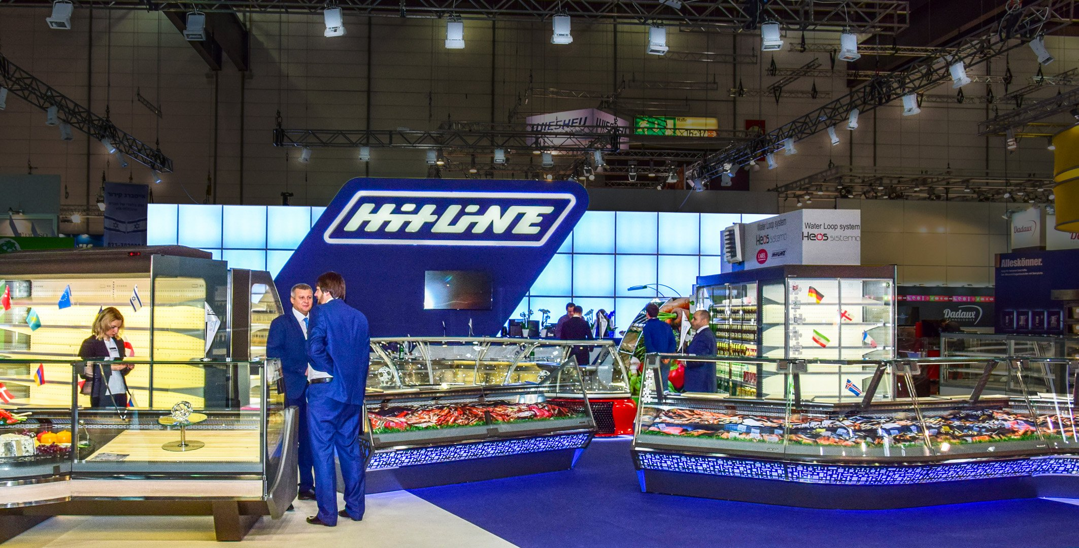 exhibition stand Hitline in Germany