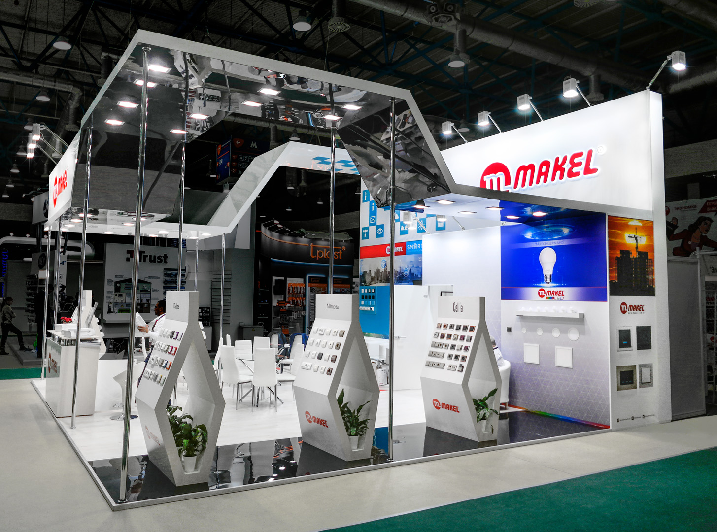 stand of MAKEL company at the Russian exhibition