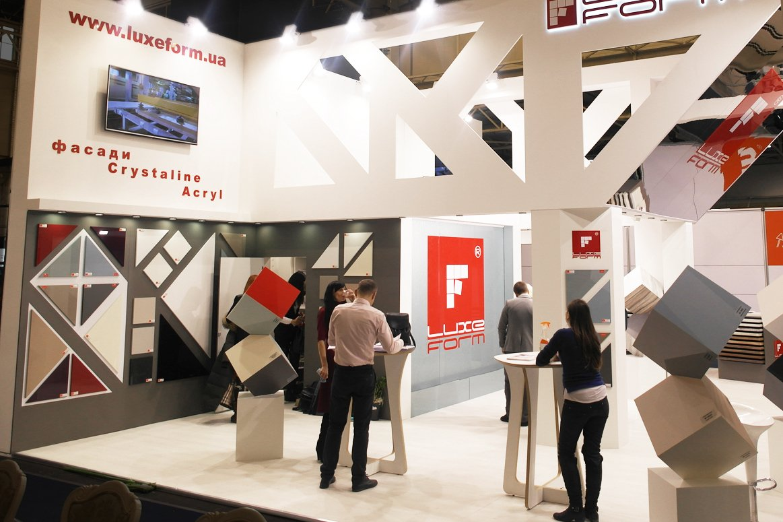 Выставочный стенд на мебельной и интерьерной выставке KIFF and MTKT