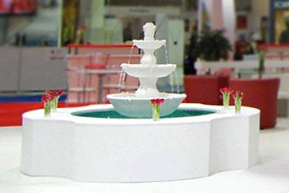 Эксклюзивный стенд для Турции с фонтаном