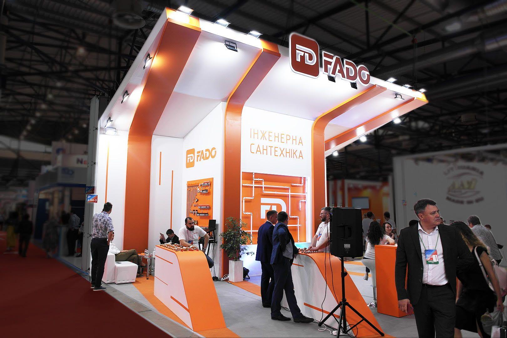 exhibition stand ergonomics for small area