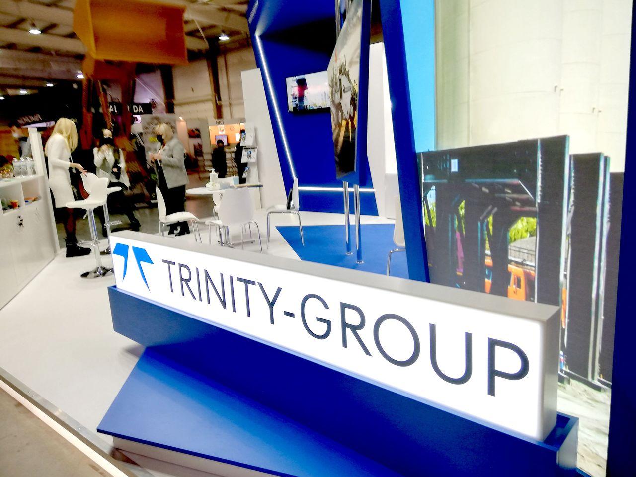 Выставочный стенд Trinity Group
