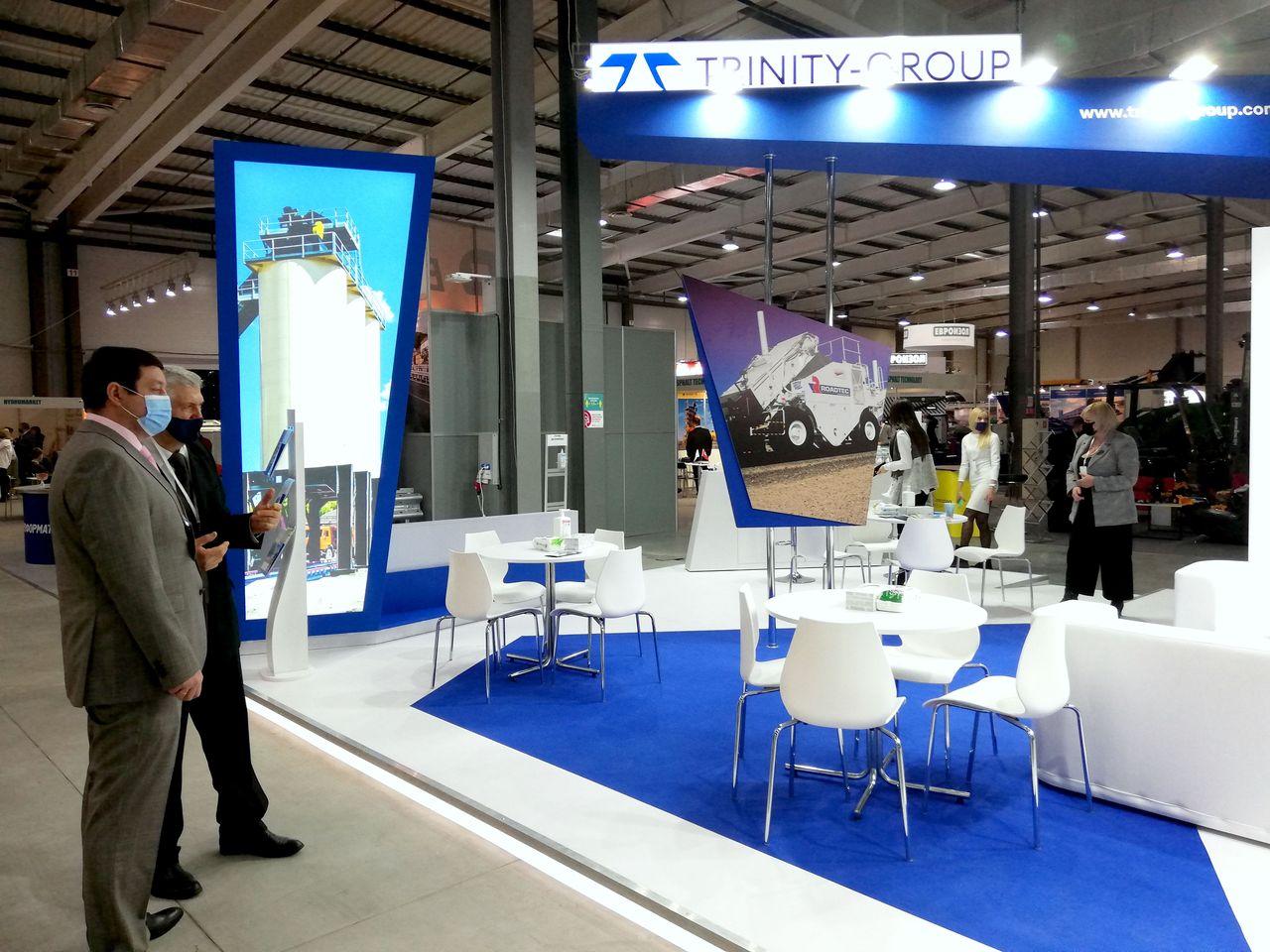 exhibition stand at Avtodorexpo 2020