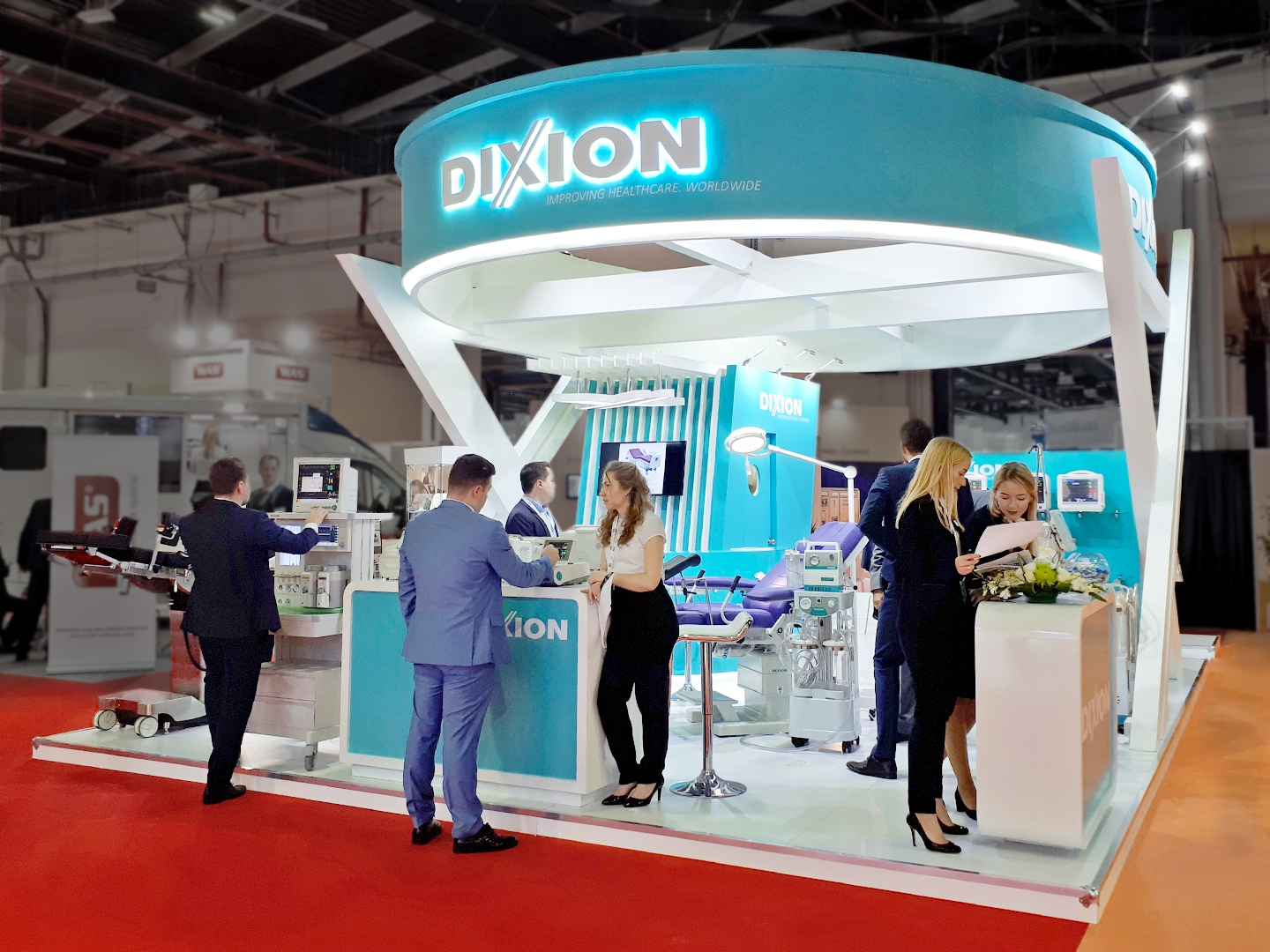 Exhibition Stand Builders In Munich : We plan realize and build your expo stand worldwide